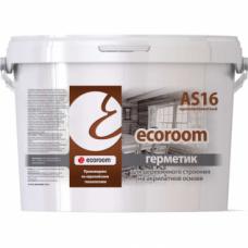 Ecoroom AS 16  - Герметик акриловый для деревянного строения
